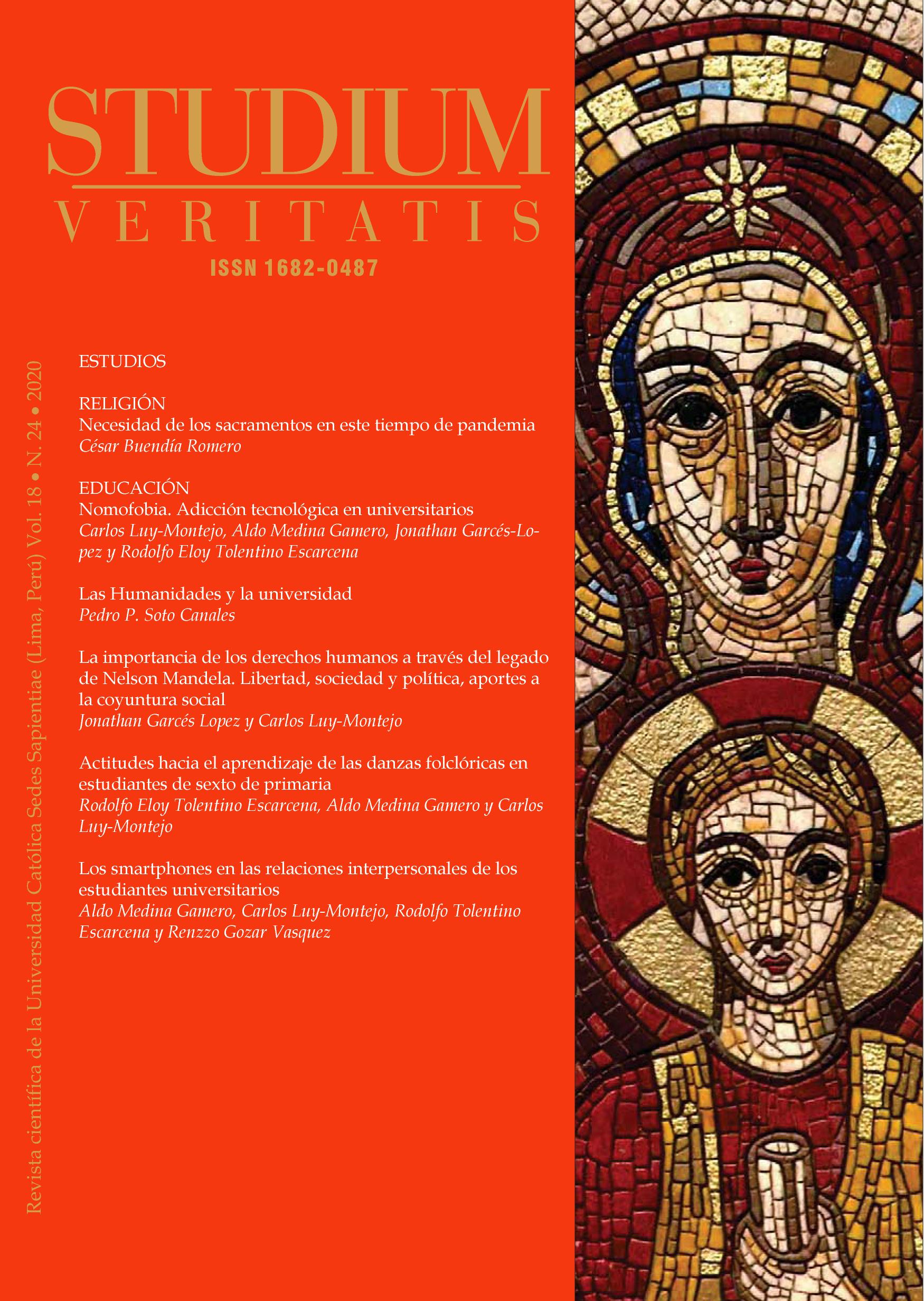 Ver Vol. 18 Núm. 24 (2020): Studium Veritatis